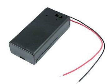 PP3 Battery Holder with on/off switch